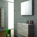 Έπιπλο μπάνιου Flat 100 2 Πόρτες Orabella